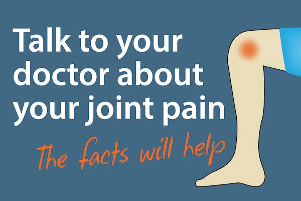 Talking to Your Doctor About Joint Pain