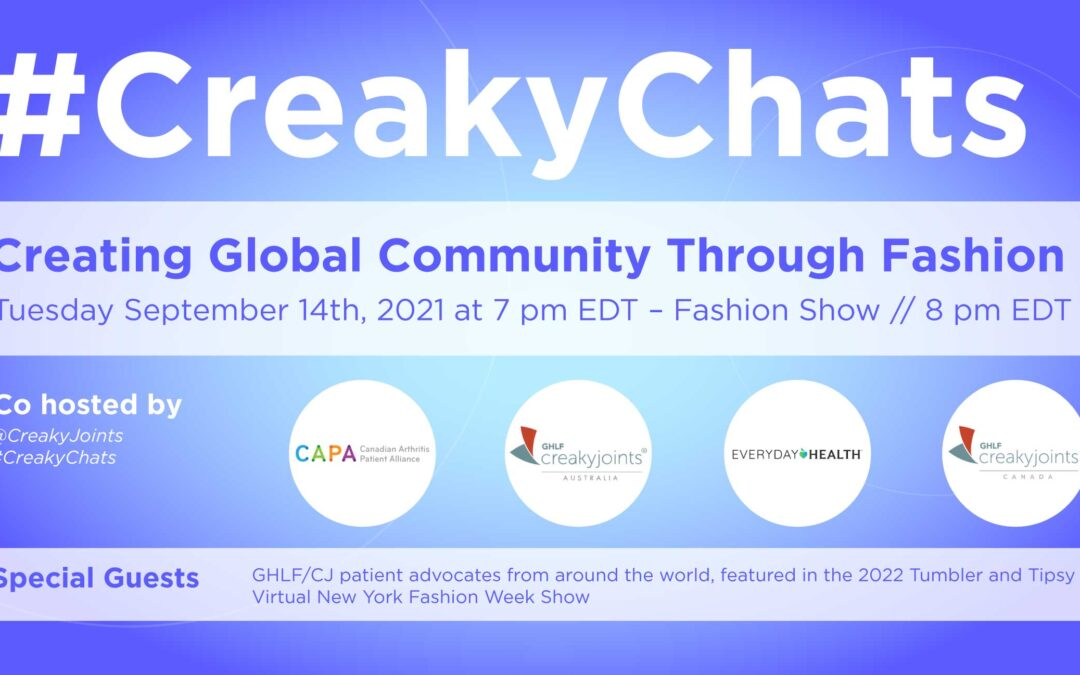 Join the Virtual Creaky Joints Fashion Show and Participate in #CreakyChats!